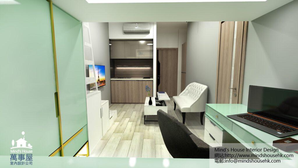 屯門城.點COO裝修室內設計-Residence