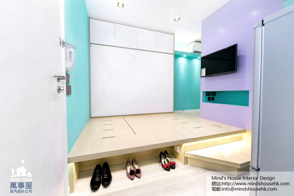 長沙灣麗翠苑裝修室內設計-Lai Tsui Court