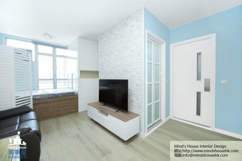 屯門欣田邨裝修室內設計-Yan Tin Estate
